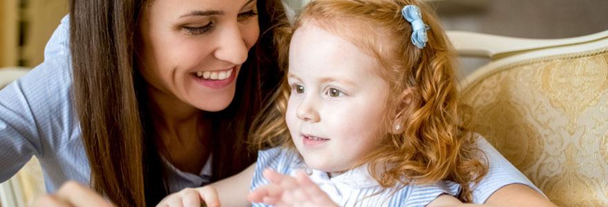 Services à la personne pour garde d'enfant