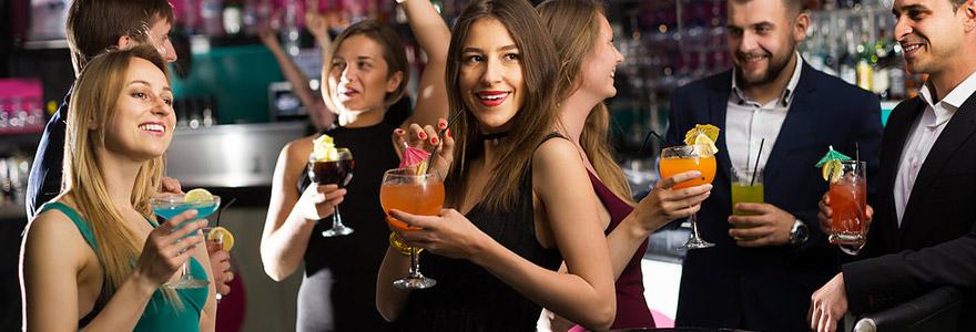 soirées et cocktails d'entreprise