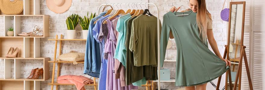 Vêtements femme avec style tendance