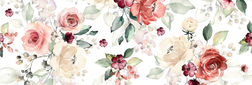 tissu floral
